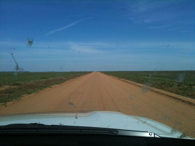 Its a long way to South Australia